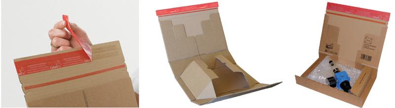 colompac carton d 39 exp dition post taille xl marron 5600205 fournitures de bureau et. Black Bedroom Furniture Sets. Home Design Ideas