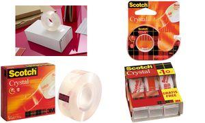 Scotch Klebefilm Crystal Clear 600 7+1 19 mm x 33 m